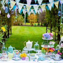 Green Outdoor Party Decor Stunning DIY Party Decoration Ideas
